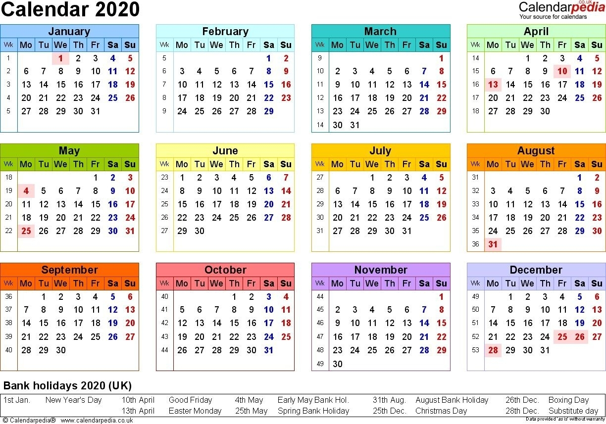 Calendar Printing Outlook 2021