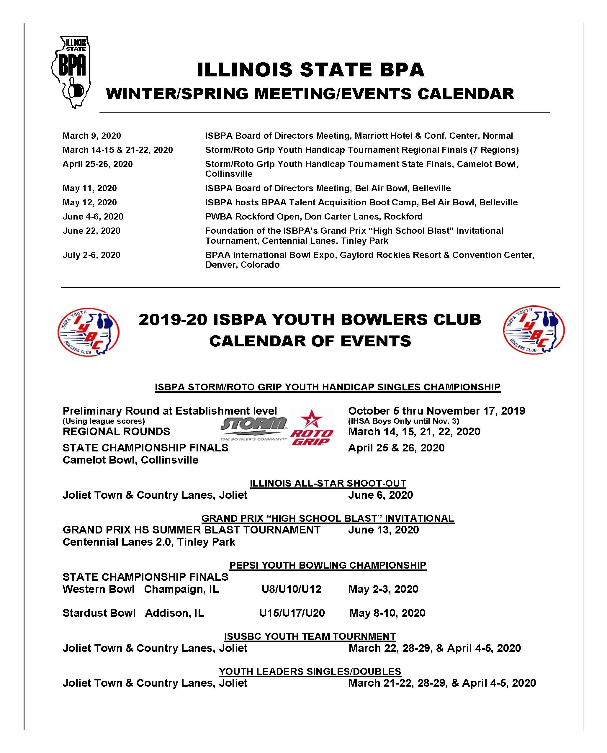 Illinois Calendar Of Events