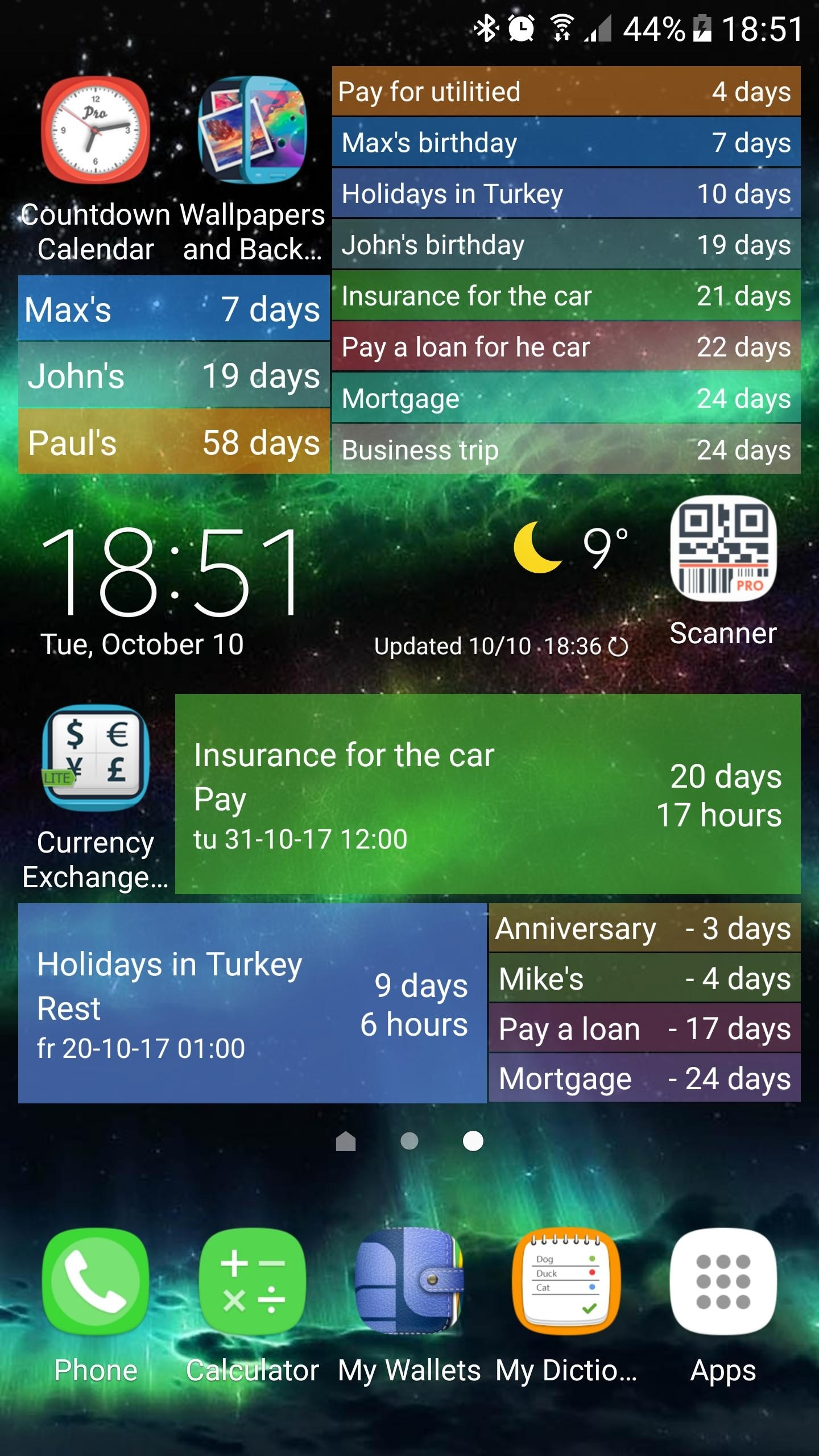 Countdown Calendar For Android – Apk Download