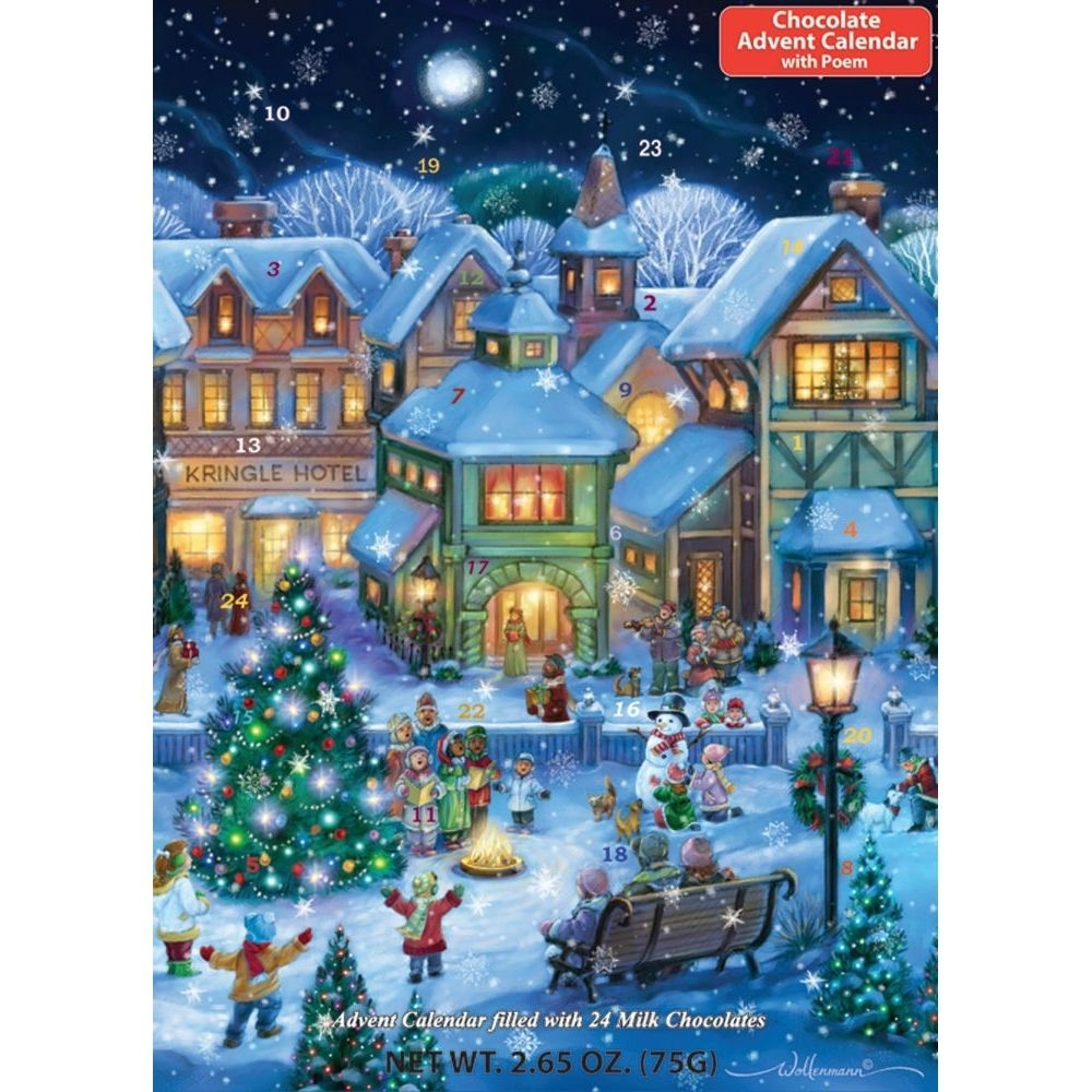 Chocolate Advent Calendar 2021 Usa