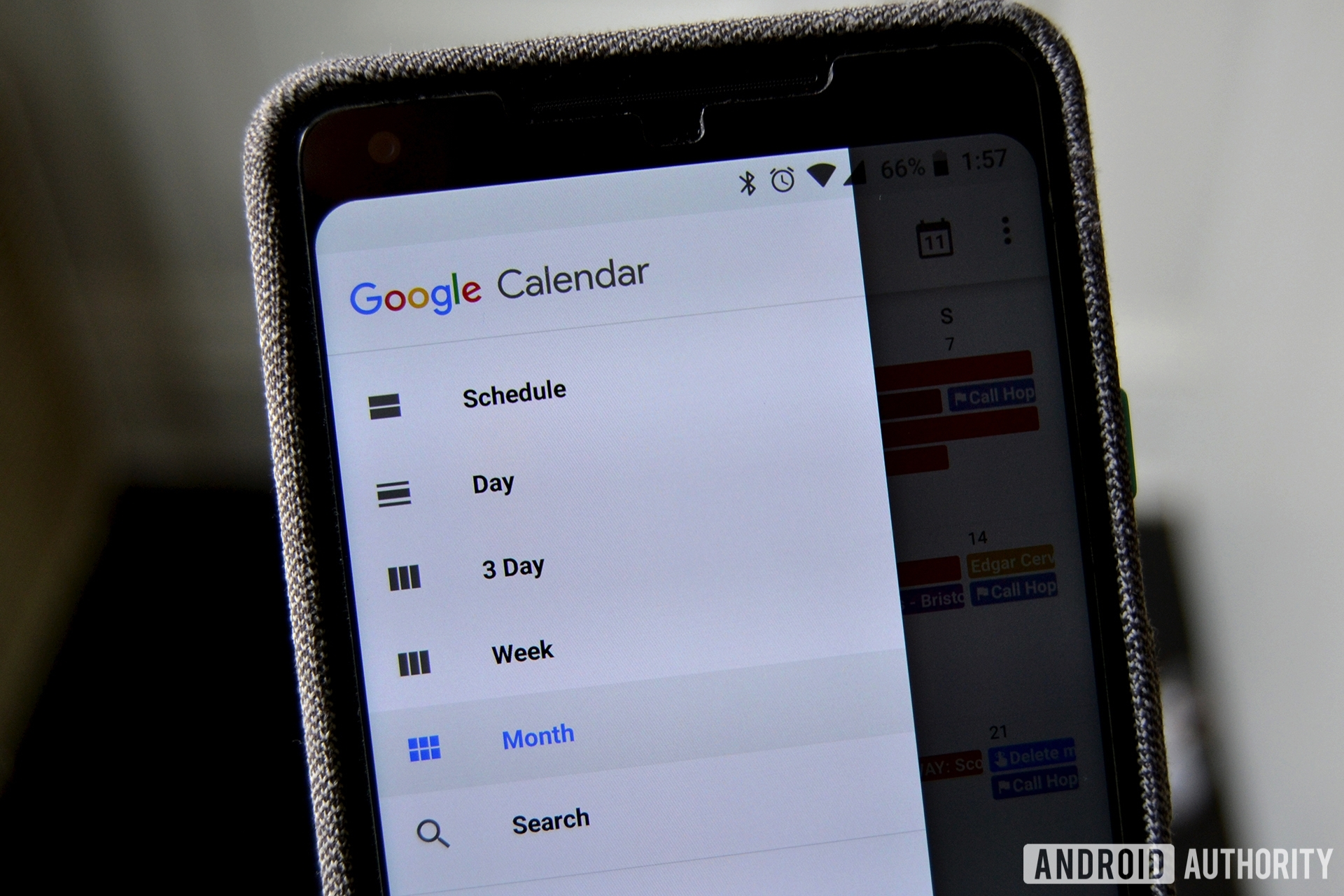 Share Google Calendar Android