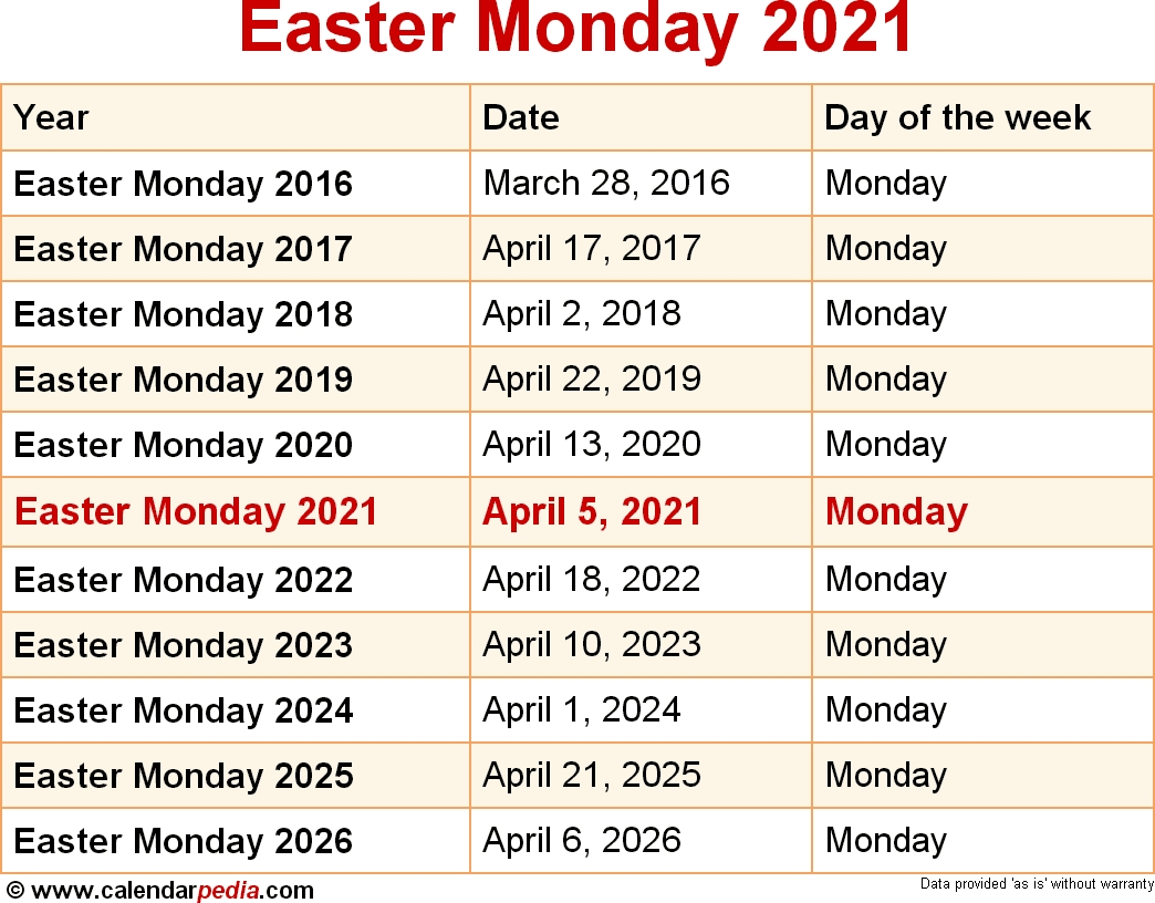 When Is Easter In 2020 2