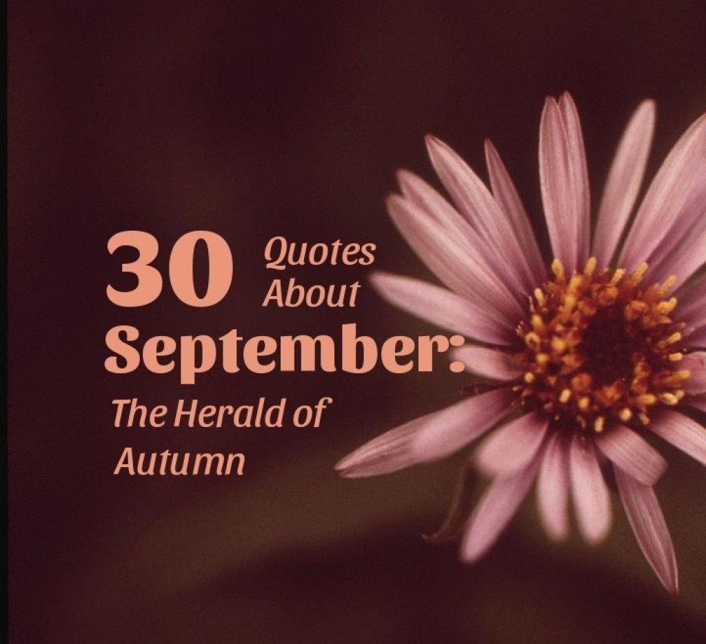 September Summer Quotes
