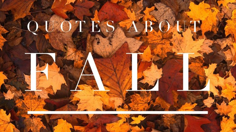 Fall Quotes And Sayings | Keep Inspiring Me