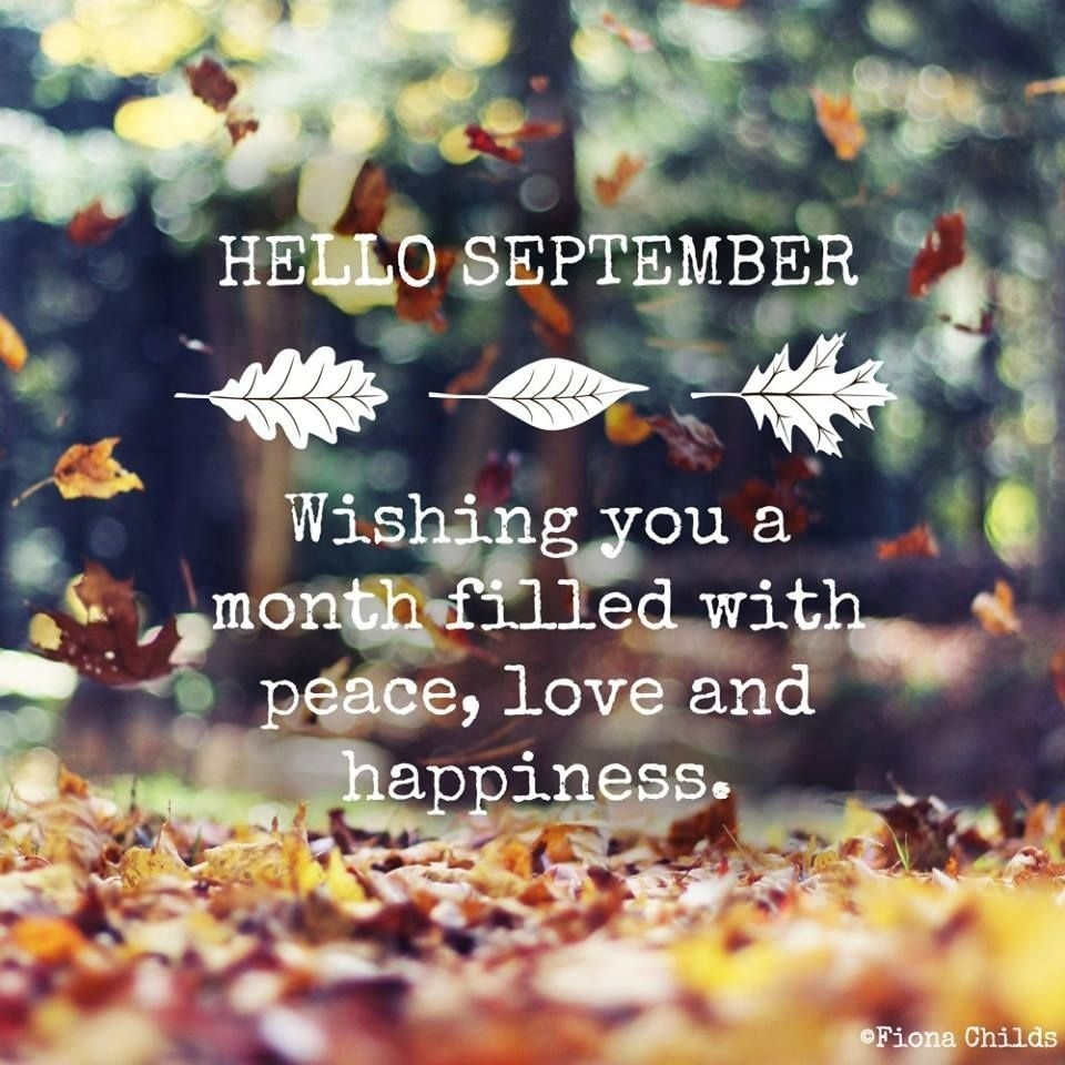 Hello September Quotes Wallpapers #helloseptember