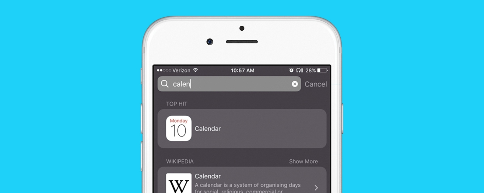 Calendar Icon Disappeared From Iphone 5