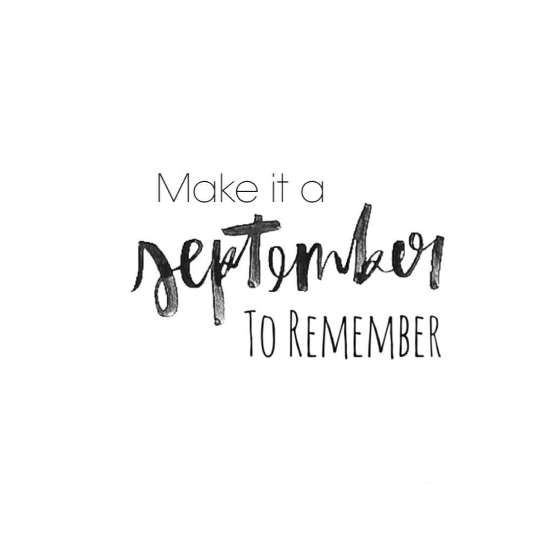 Cute September Quotes