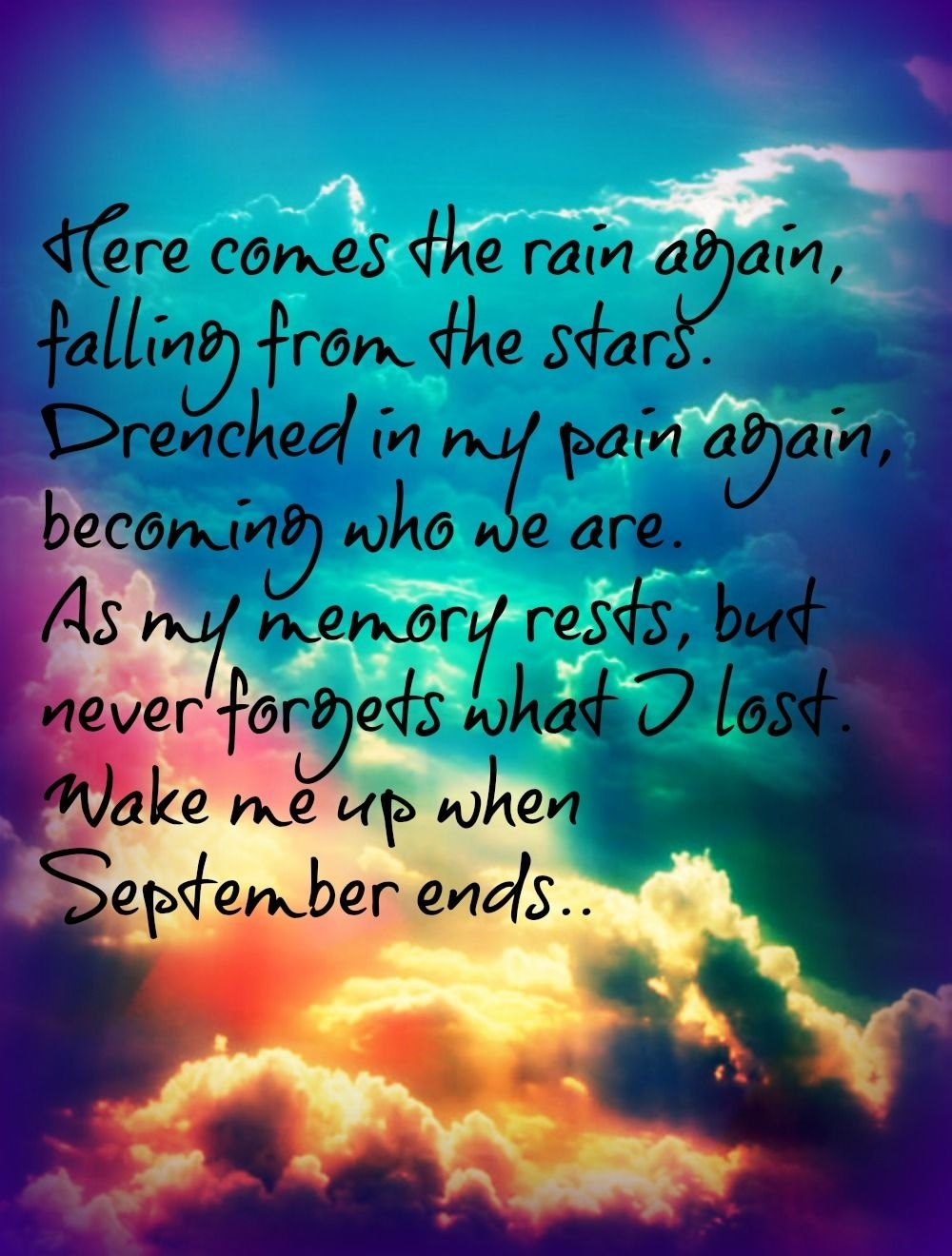 September Ends Quotes