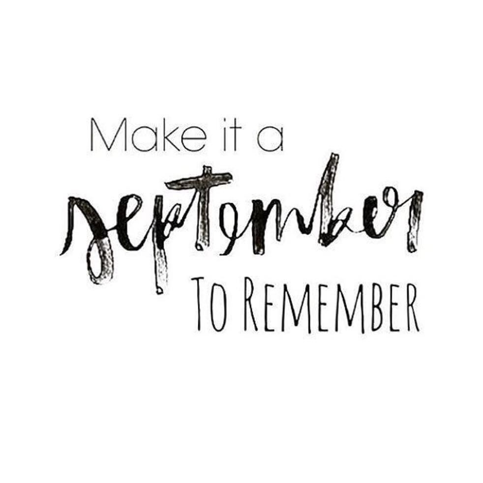 September Is Here Quotes