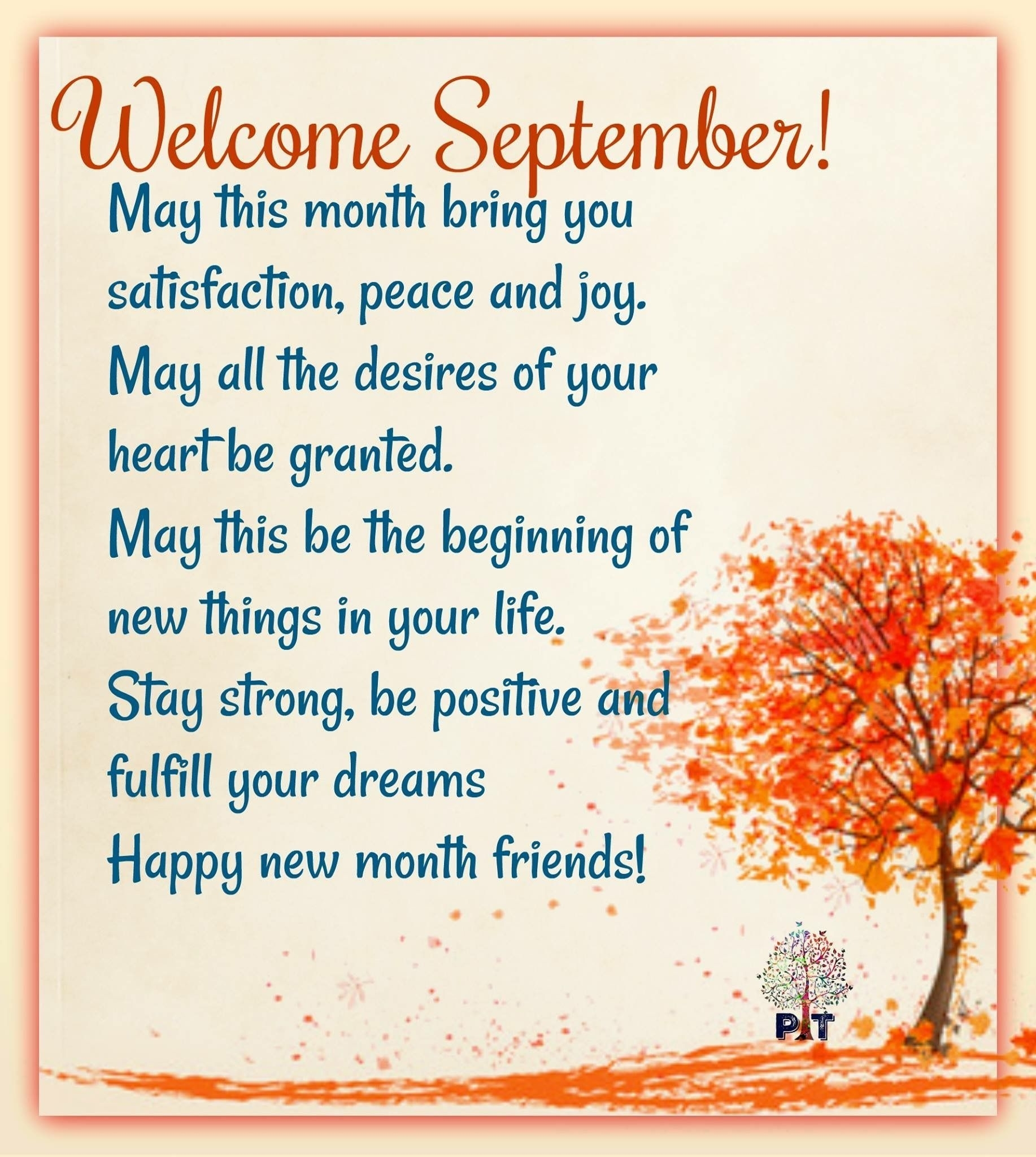 September New Month Quotes