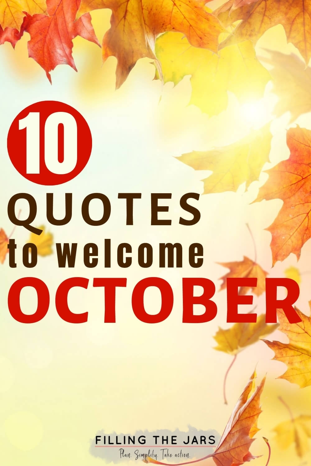 October Quotes And Images