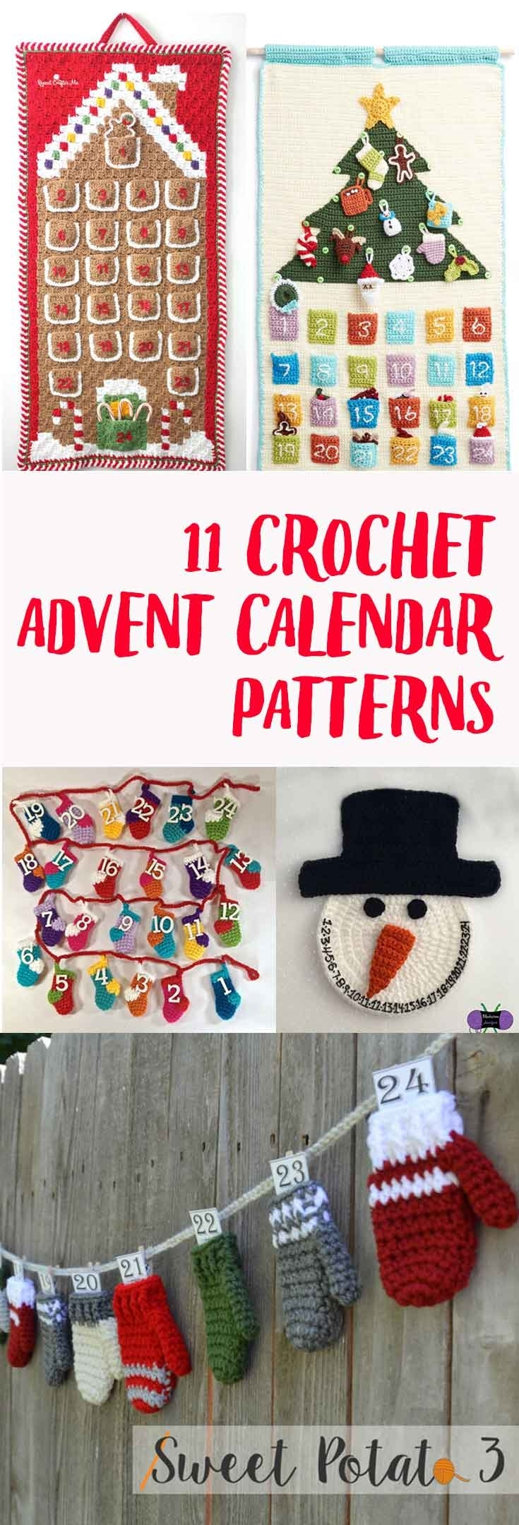 Crochet Advent Calendar Pattern