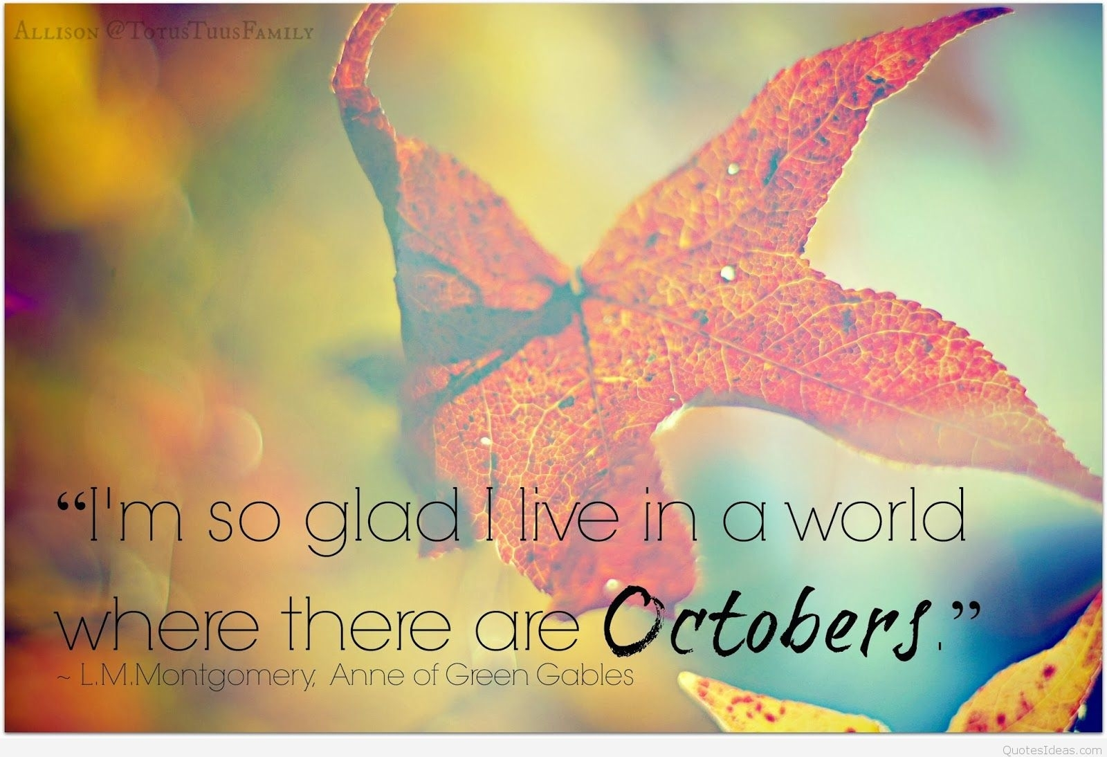 Best 50 October Quotes And Sayings