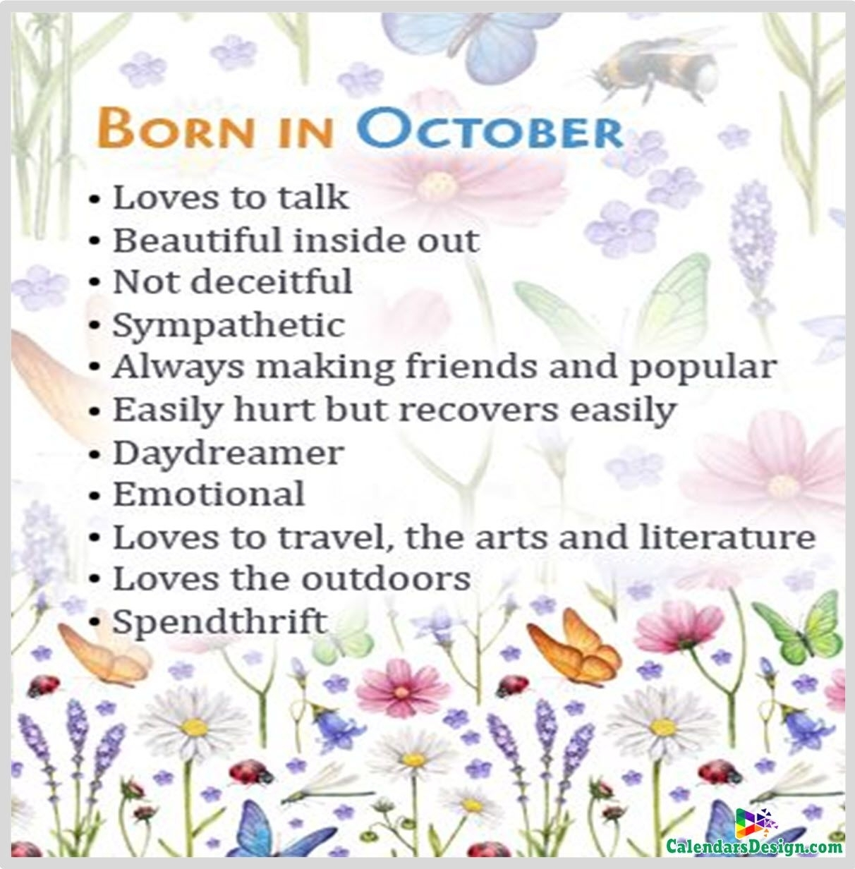 October Birthday Quotes And Sayings