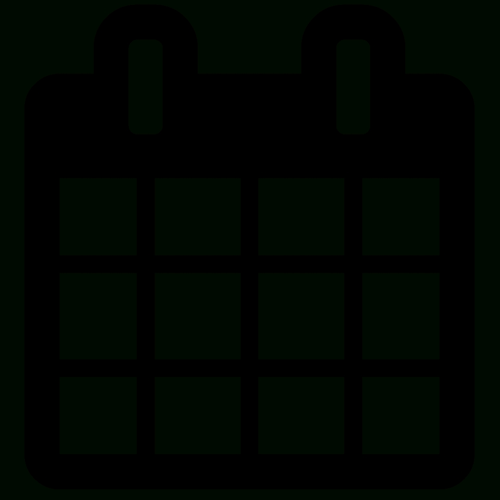 Calendar Icon Awesome Font