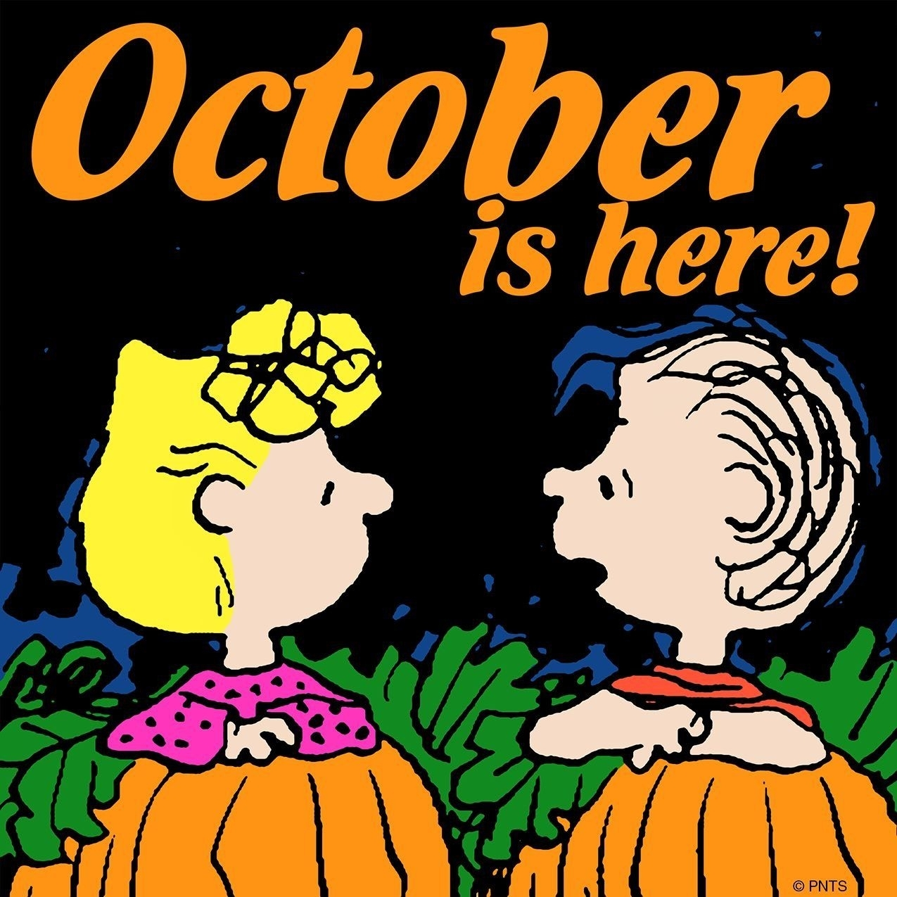 Hello October Snoopy