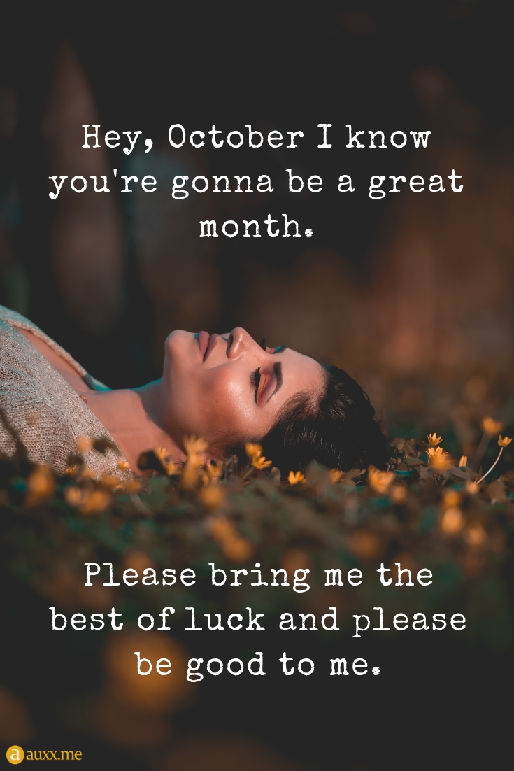 Great October Quotes