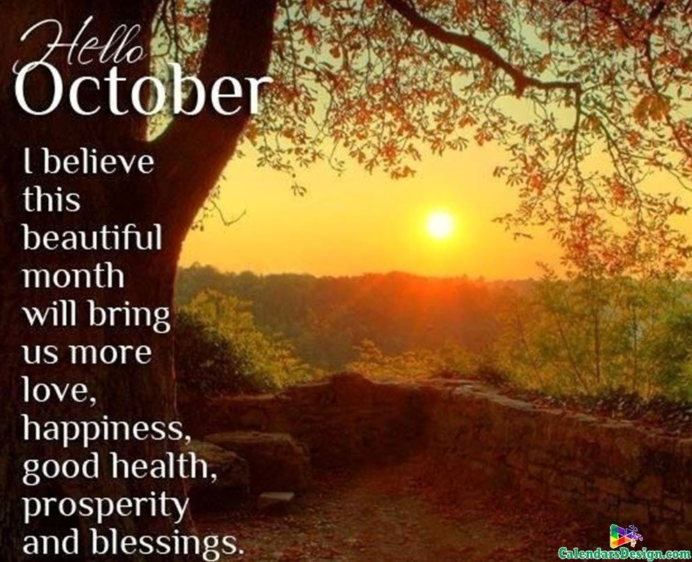 October Month Quotes And Sayings