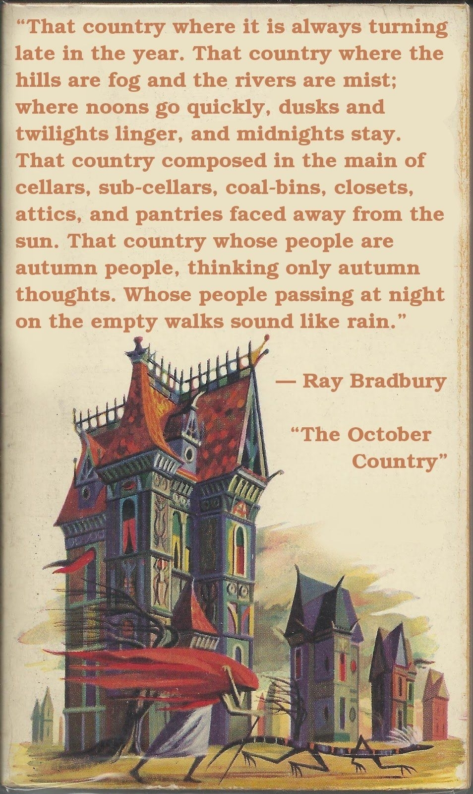 October Country Quotes