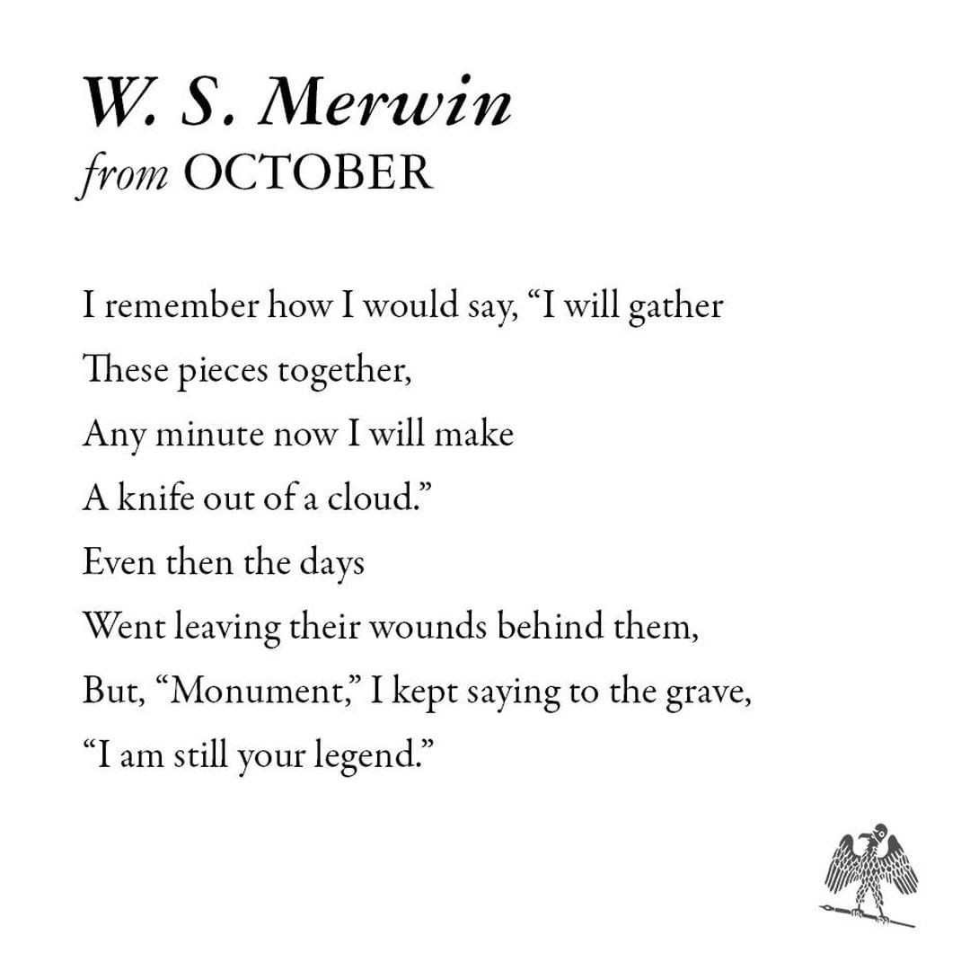October Sayings Poems