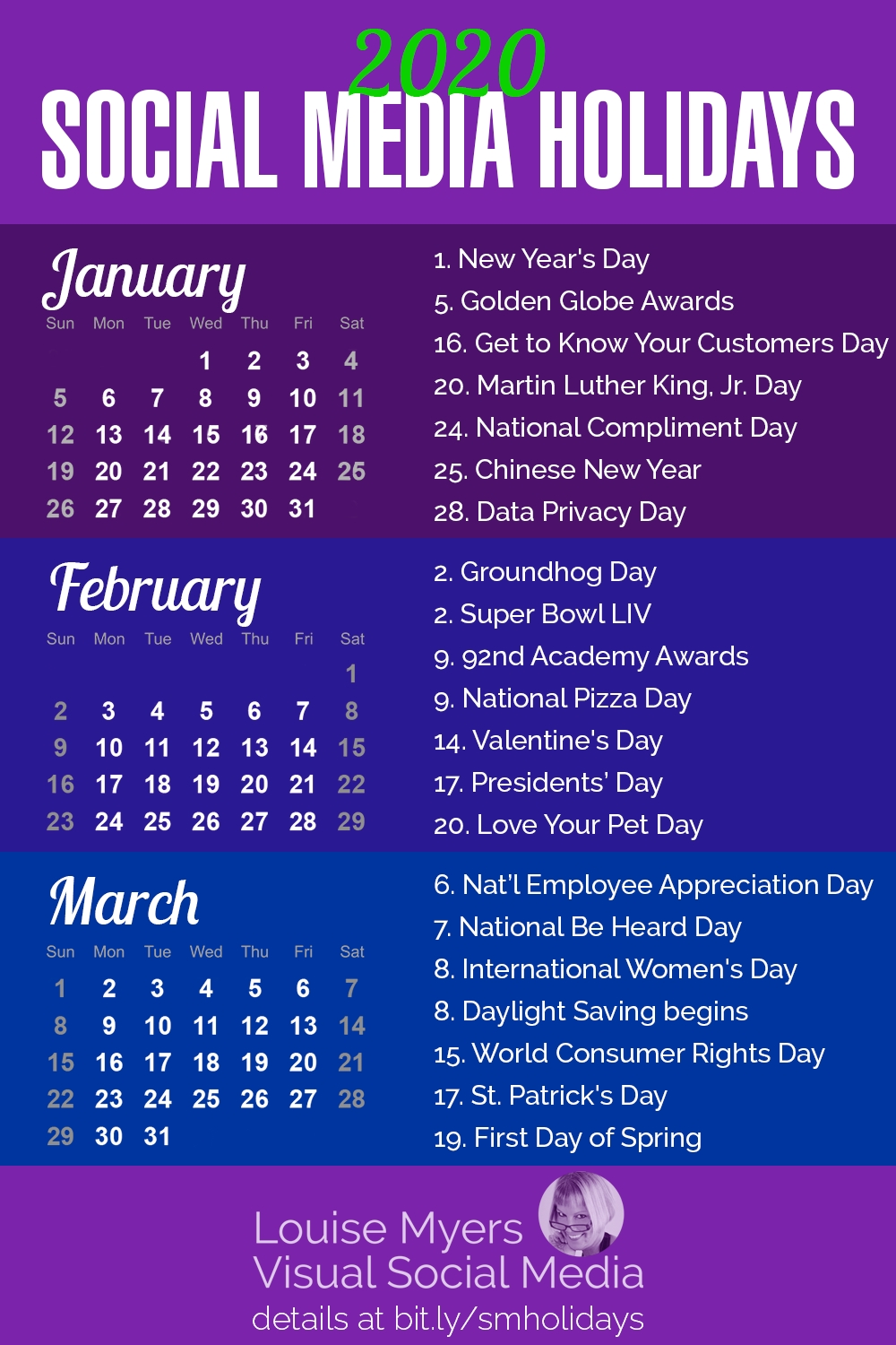 100+ Social Media Holidays You Need In 2020-21