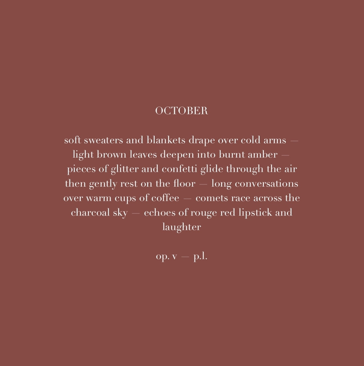 October Quotes On Tumblr