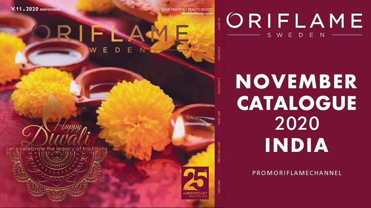 November 2020 Oriflame Catalogue