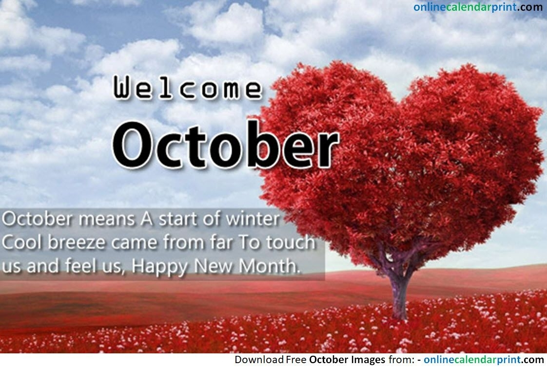 October New Month Quote