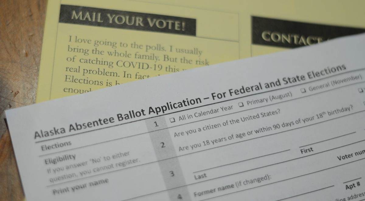 Saturday Is The Last Day For Alaskans To Request An Absentee